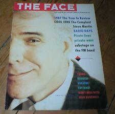 FACE magazine January 1988 STEVE MARTIN Tilda Swinton Biko RoboCop Yargo 1987