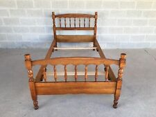L. STICKLEY CHERRY VALLEY SPINDLE STYLE TWIN BED