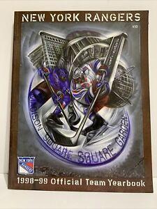 New York Rangers 1998-99 Official Team Yearbook Vintage