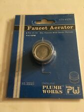 """Plumb Works Faucet Aerator for 15/16"""" Diameter Faucets with Inside Threads"""