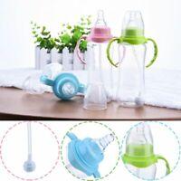 Milking Antislip Handle Nipple Pacifier Baby Bottle Straw Cup Feeding Tool