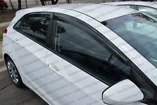 Premium Weather Shields Weathershields Window Visor for I30 GD hatch 12-16 model