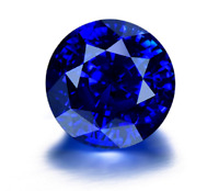 Pretty BLUE ROUND SHAPE UNHEATED TANZANITE 12mm AAAAA+ LOOSE GEMSTONES