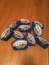 2017 Jamboree Trade Stock - Lot Of 10 2013 NCAC 15 JSPs - 150 Patches In All