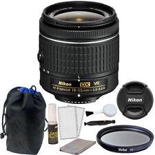 Nikon 18-55mm f/3.5 - 5.6G VR AF-P DX Nikkor Lens for Nikon D5500 DSLR Camera