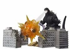 S.h.monsterarts Godzilla effetto Set di 2 Bandai Tamashii Nazioni da Giappone