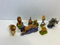 Disney Lion King Figure Set of 8 Cake Toppers Timon Pumba Simba Scar