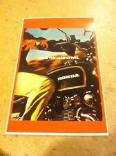 Vintage Honda Cb500t Motorcycle Poster Advertisement Man Cave Gift