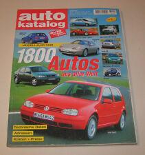 Autokatalog Modelljahr 1998 - Nr. 41!