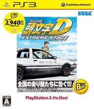 PS3 Initial D Extreme Stage the Best JAPAN OFFICIAL IMPORT FREE SHIPPING F/S