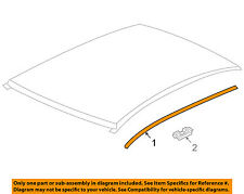 Chevrolet GM OEM 11-15 Cruze-Roof Molding Trim Left 95992527