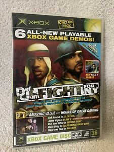 Xbox- Xbox Magazine-6 All-New Playable Demos #36 Def Jam Fight For NY