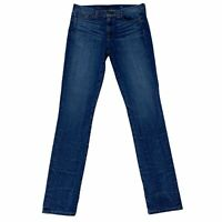 J.Crew High Rise Skinny Women's Size 29 Stretch Denim Blue Jeans
