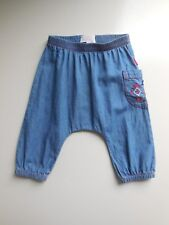 CUTE 'PUMPKIN PATCH' BABY GIRL COTTON PANTS SIZE 000 FITS 0-3M HARDLY WORN