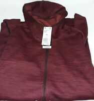 Adidas Training Climaheat Fleece Hoodie, Size XXL, Maroon/Black NWT