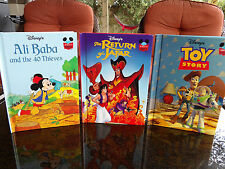 Lot of 24 Walt Disney Wonderful World of Reading Books - Glossy hardcovers