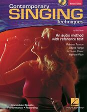 Contemporary Singing Techniques Women's Edition An Audio Method with 000740263