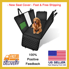 New Waterproof Seat Cover Dog Pet Car With Hammock Protector For Rear Back Seat