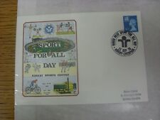 13/09/1976 Commemorative Cover: Sport For All, Kirkby Sports Centre - North West