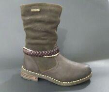 New $120 Gabor Kids Girls Boots Winter Waterproof Leather Sz 10.5 Usa/28 Euro