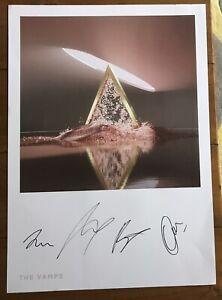 The Vamps - Cherry Blossom  Lithograph Signed Autographed