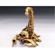 Scorpion Skeleton With Skull Figurine New