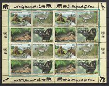 UNO New York 2000 postfrisch MiNr.  831-834  Gefährdete Arten