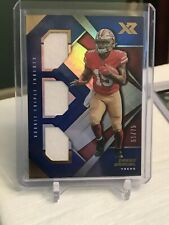 2019 Panini Deebo Samuel SF 49ers 2 Color Patch 55/75 No. RTM-13!!