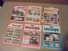 Lot Of 6 Fonda Speedway Dirt Racing Programs 2000S,Romano,Hearn,Davis, Lape,
