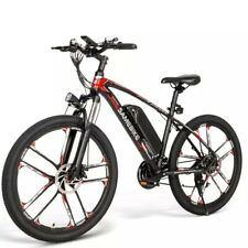 New SM26 Electric Bike 26 Inch Power Assist Electric Bicycle 350W 48V E-Bike