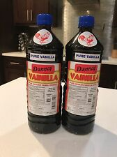 Mexican Danncy Pure Vanilla Extract Dark (1 Liter Each) Lot Of 2 Free Shipping