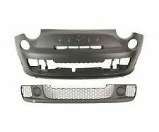 FIAT 500 ABARTH Front Bumper Cover + Grill 735487069