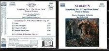 CD 1258  SCRIABIN  SYMPHONY N3 THE DIVINE POEM