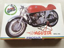 model kit  - mv Augusta    500c.c 4 cilindri   -  by protar 1/9