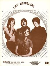 Small Faces-The Universal-1968 Sheet Music-Original Australian issue-Immediate