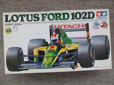 TAMIYA 20033 - LOTUS FORD 102D FI GP CAR - RARE 1/20 MODEL KIT