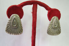Mexico 13 Gr. Very Pretty! Fabulous Vintage Sterling Silver Earrings S.T.C.