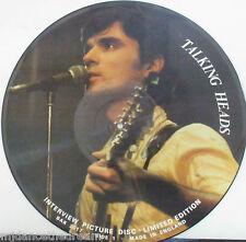 TALKING HEADS ~ Interview ~ VINYL LP PICTURE DISC LTD ED
