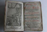 Gebat-Buch Livre de prière allemand 1797 (42942)