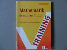 Training Mathematik Gymnasium 7.Klasse G8