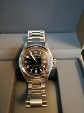 Hamilton Khaki Field H70455133 Automatic Black Dial Men's Watch