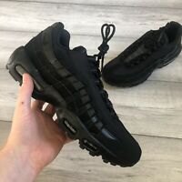 NIKE AIR MAX '95 BLACK TRAINERS SIZE UK9/US10/EUR44 609048-092
