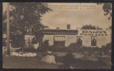 Postcard JAMESTOWN New York/NY  Benders Pancake Shop & Tourist Cabins 1920's?