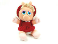 Baby Miss Piggy Plush 1988 Muppet Babies Christmas Henson Toy McDonalds