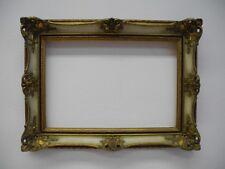 alter Neo-Barock-Bilder-Rahmen Mittelformat Falzmaß  38,3 x 26,7 cm (8)