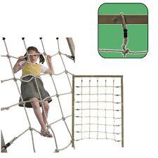 Red de Escalada 200x150 CM Malla 25x25cm Para Área Juegos Cuerda Alpinismo