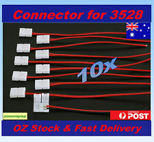 10pcs 8mm Wire Connector for 3528 SMD LED Strip lights - Easy Connect
