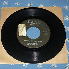 ROCKABILLY 45RPM RECORD - SMILEY ROBERTS & VERSATILES - RAND 262.  SOL.