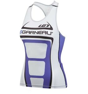 new Louis Garneau Performance Delfino Power Mesh Womens Tri Tank with sports bra