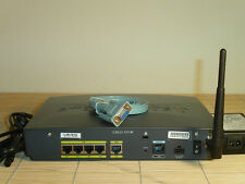Cisco 851W-G-A-K9 851 Wireless Ethernet 100mW Output Sendeleistung WAN Router